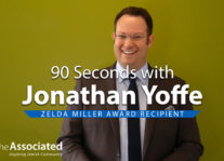 90 Seconds with Jonathan Yoffe – Zelda Miller Award Recipient Nav Image